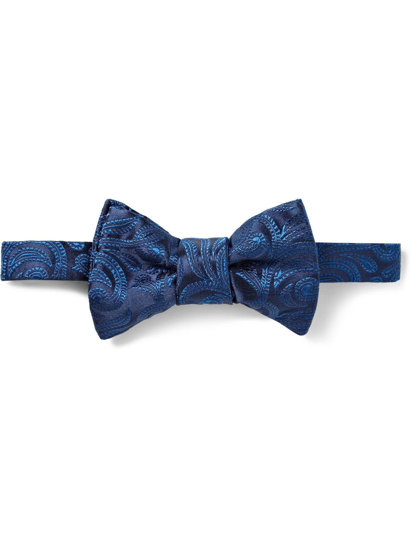 Photo: CHARVET - Paisley Woven-Silk Bow Tie