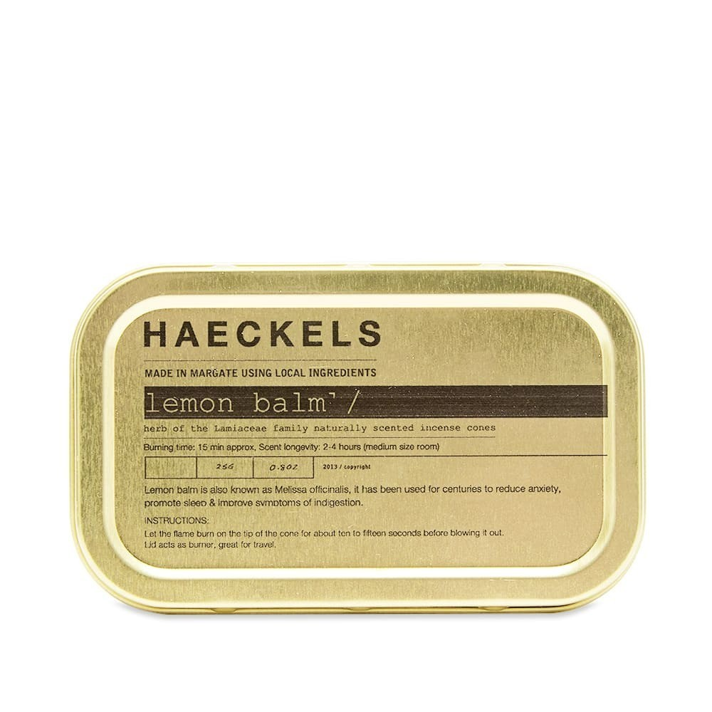 Photo: Haeckels Lemon Balm Incense Cones