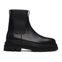 3.1 Phillip Lim Black Lug Sole Sam Chelsea Boots
