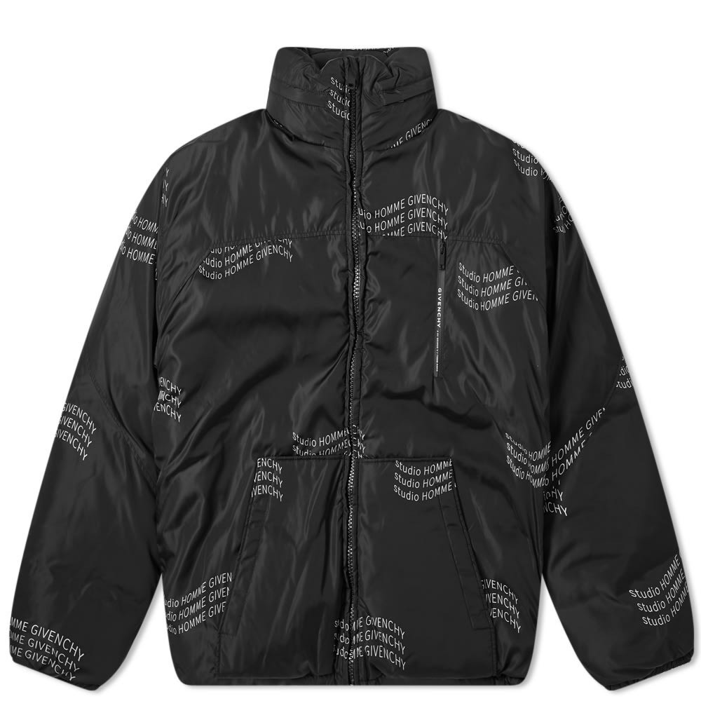 Photo: Givenchy Studio Homme Reversible Down Jacket