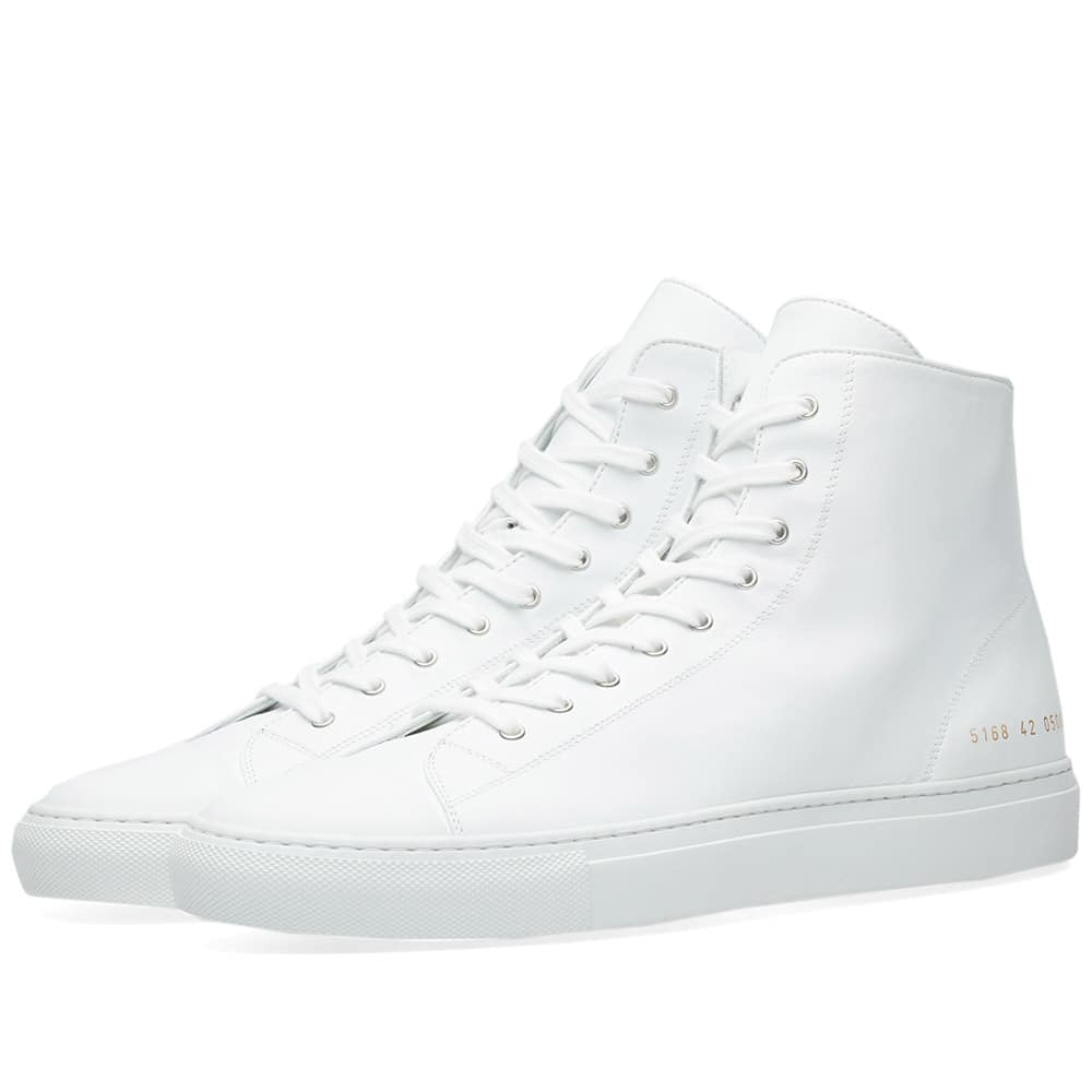Common Projects Tournament Toe Cap High