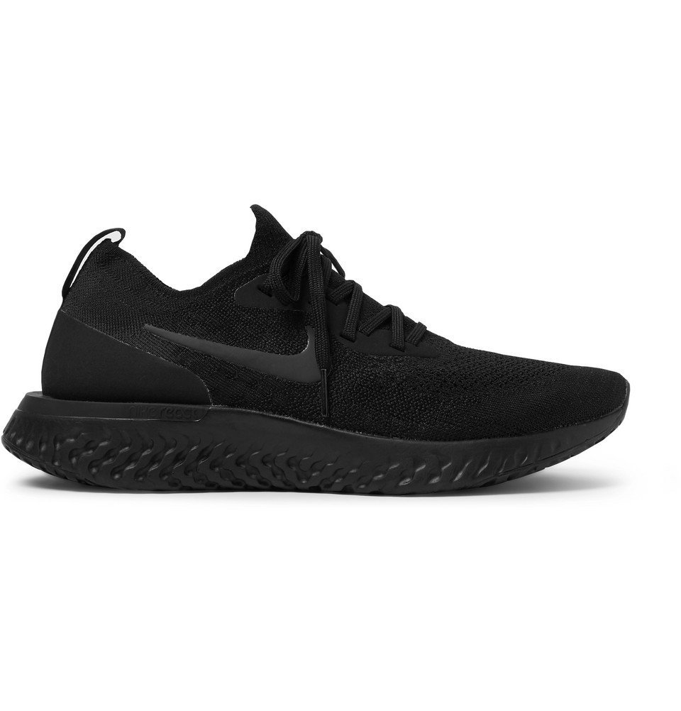 Nike Running - Epic React Flyknit Sneakers - Men - Black