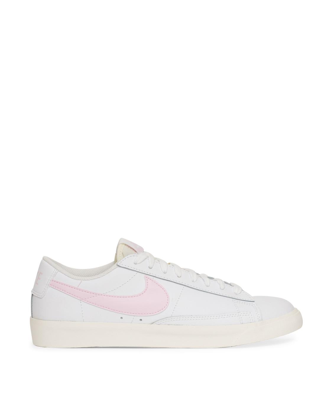 Photo: Nike Blazer Low Sneakers White/Pink Foam