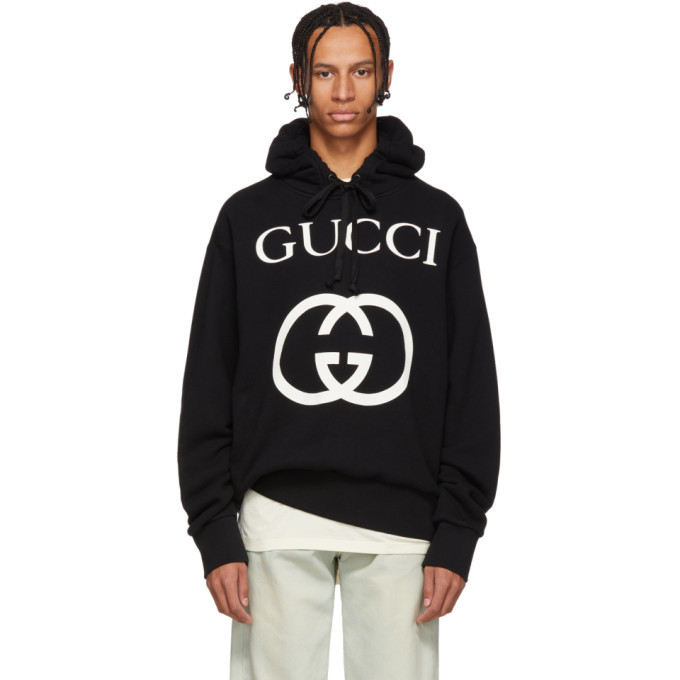 Photo: Gucci Black Logo Hoodie