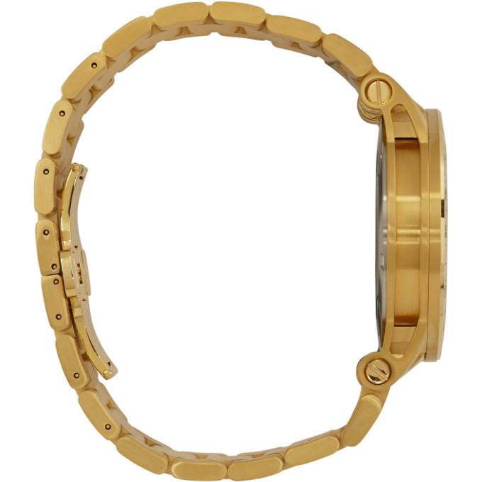 Versace Gold Sport Tech Watch