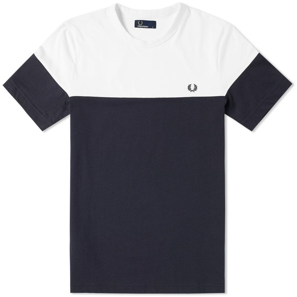 Photo: Fred Perry Panelled Tee