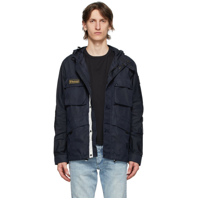 Photo: Belstaff Navy Dual Parka