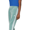 adidas Originals Green Velour Cozy Lounge Pants