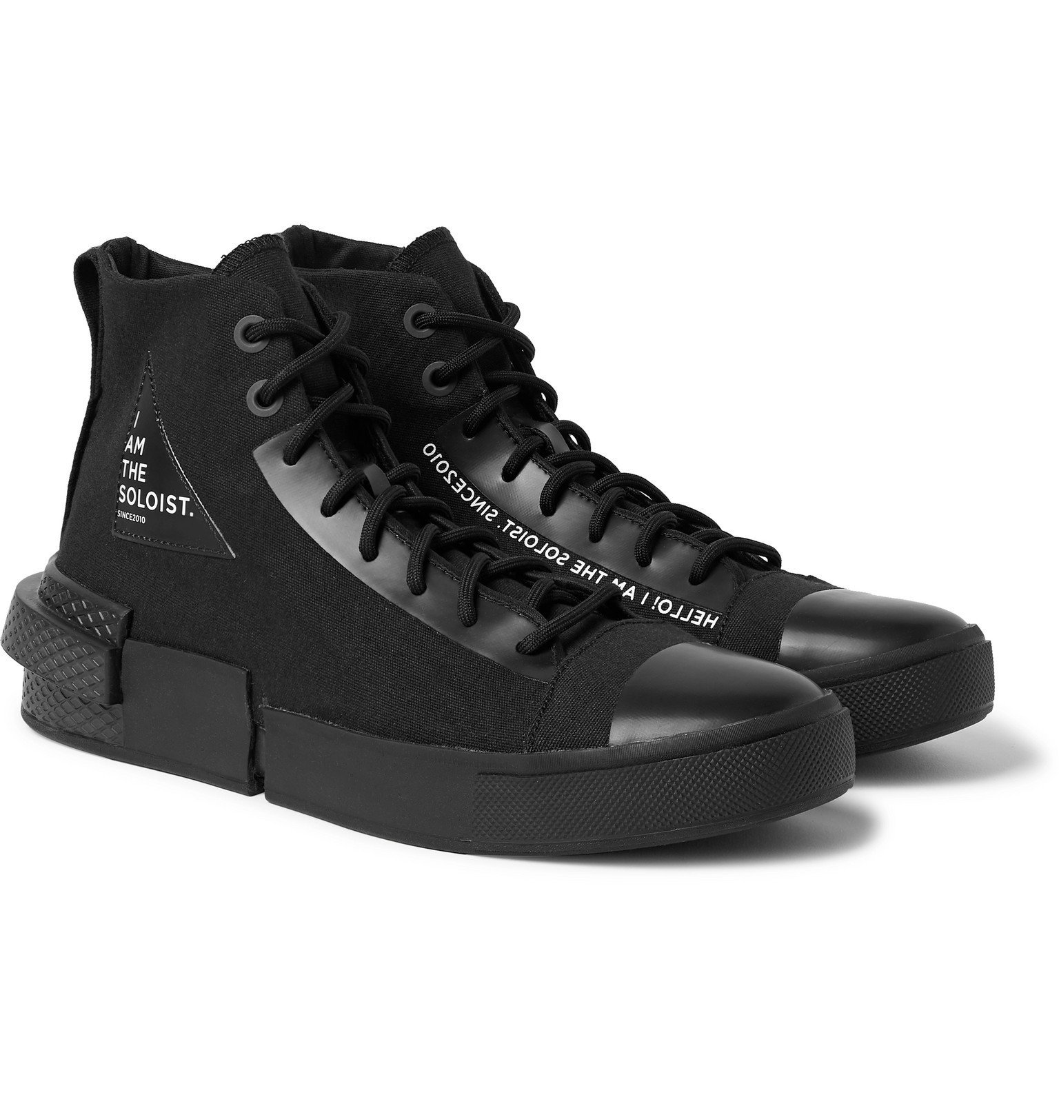 Photo: Converse - TheSoloist All Star Disrupt CX Canvas High-Top Sneakers - Black