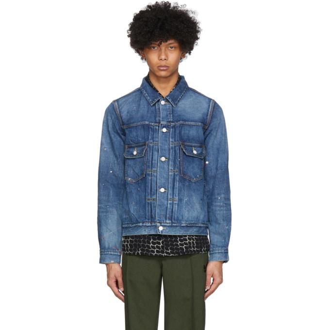 Photo: Visvim Blue 101 Denim Jacket