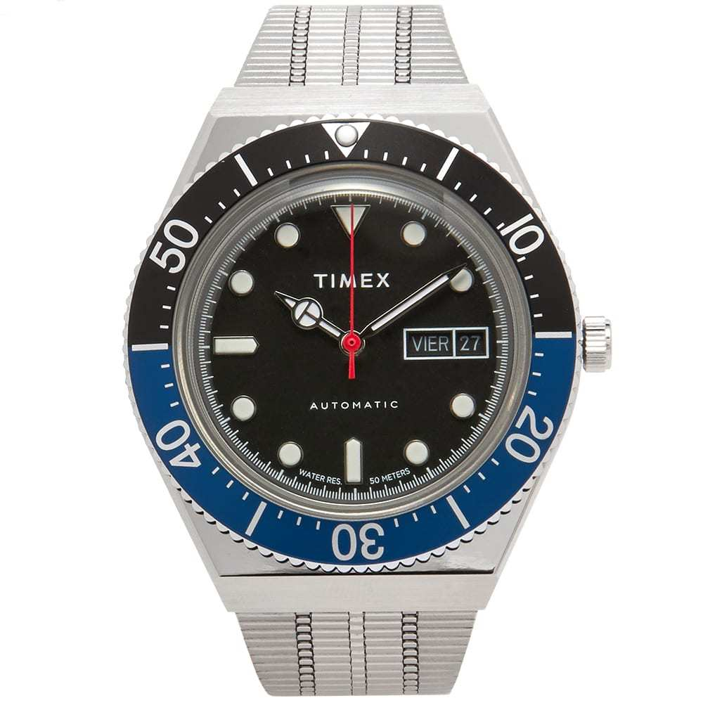 Photo: Timex Archive Reissue Diver Style Automatic Watch