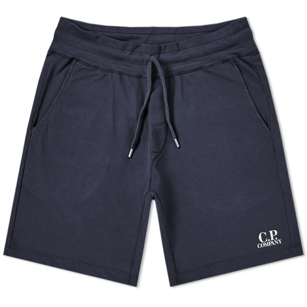 C.P. Company Light Fleece Logo Short