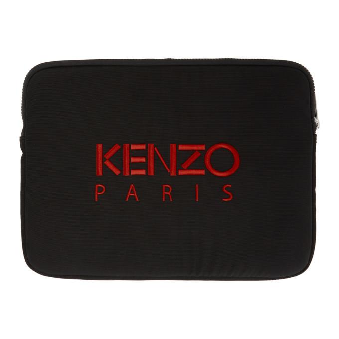 Kenzo Black Tiger Laptop Case