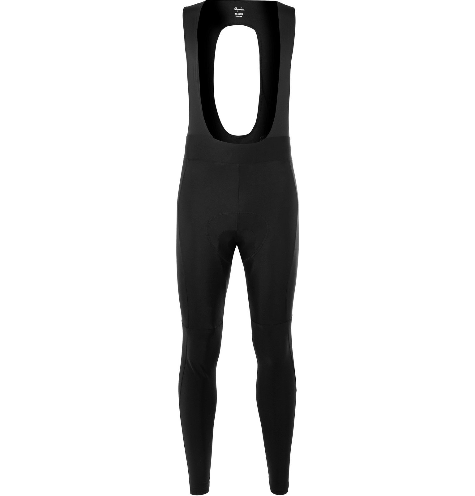 Photo: Rapha - Core Winter Fleece-Back Stretch-Jersey Cycling Bib Shorts - Black