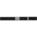 Raf Simons Black Archive Redux Woven Roll Buckle Belt