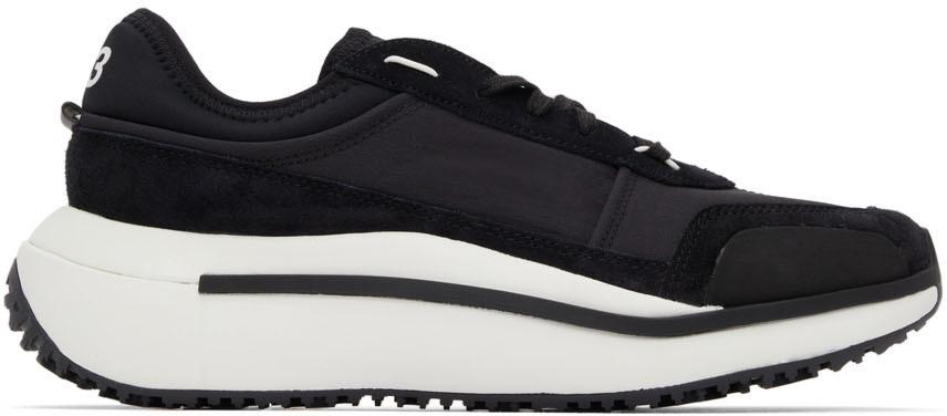 Photo: Y-3 Black Qisan Cozy Sneakers