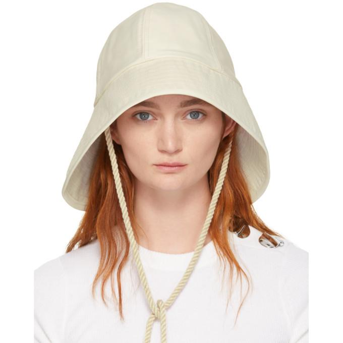 3.1 Phillip Lim Off-White Sporting Bucket Hat