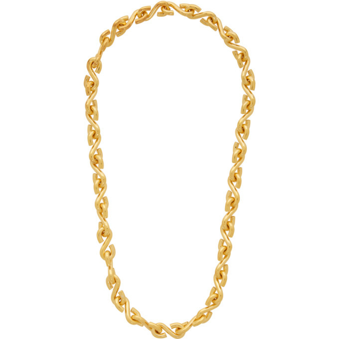 Photo: All Blues Gold Polished S Necklace