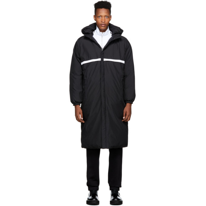 Photo: Givenchy Reversible Black Logo Puffer Coat