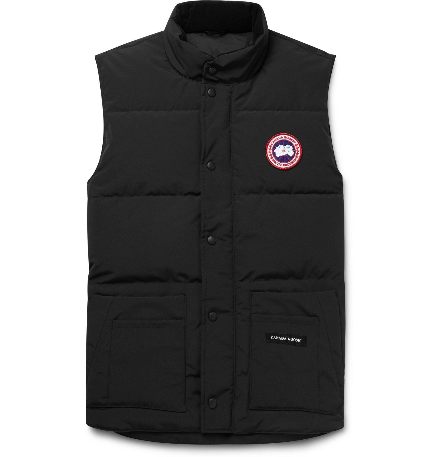 Photo: Canada Goose - Slim-Fit Freestyle Crew Quilted Arctic Tech Down Gilet - Black