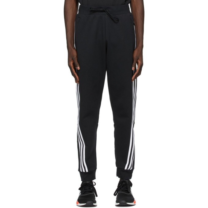 adidas Originals Black 3-Stripes Lounge Pants