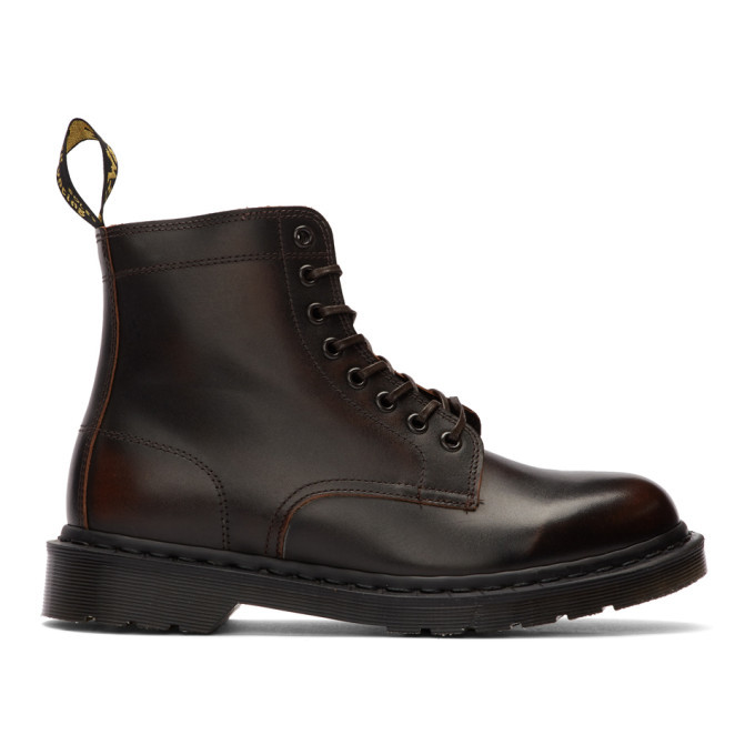 Photo: Dr. Martens Brown Made In England Rixon Boots