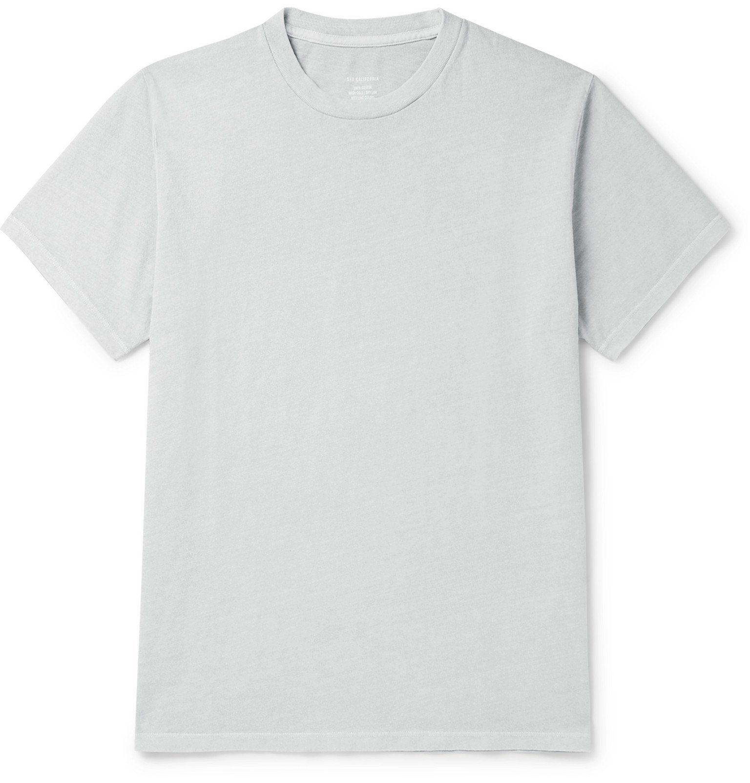 Photo: Save Khaki United - Cotton-Jersey T-Shirt - Gray