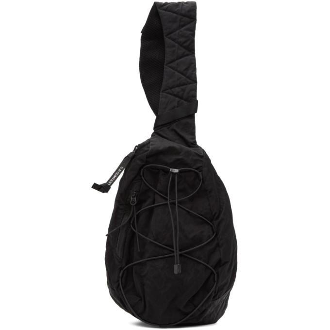 Photo: C.P. Company Black Nylon B. Crossbody Lens Backpack