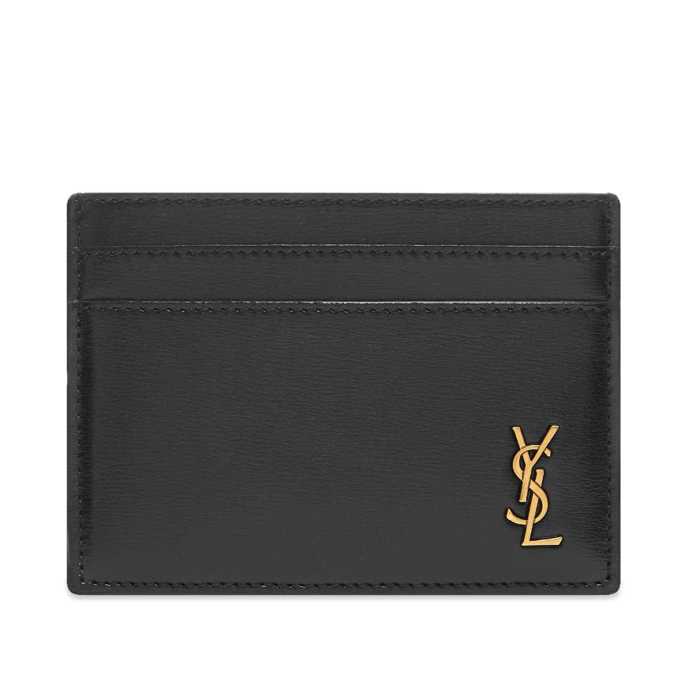 Saint Laurent Tiny Monogram Credit Card Holder