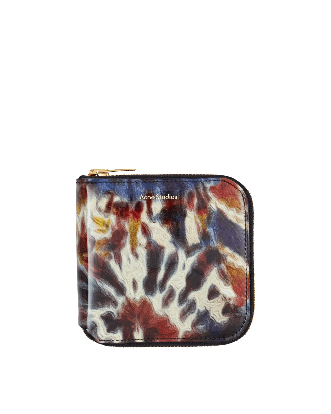 Photo: Acne Studios Csarite Tie Dye Zip Wallet Multicolor
