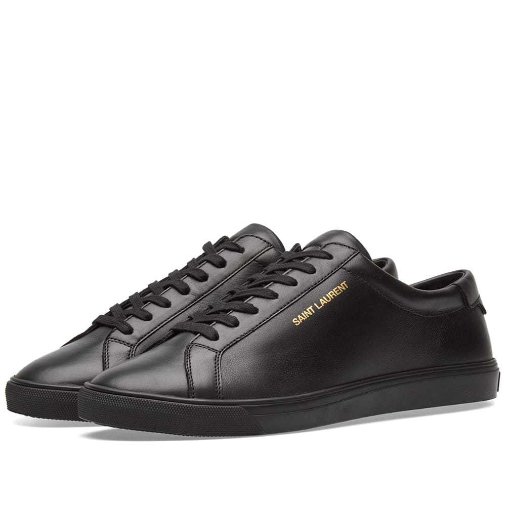 Photo: Saint Laurent Andy Clean leather Sneaker