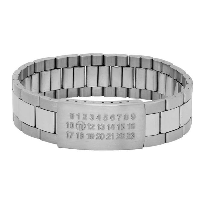 Photo: Maison Margiela Silver Watch Strap Bracelet