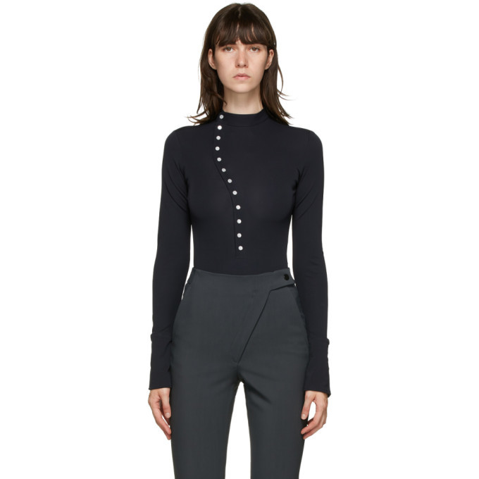 Photo: Coperni Grey Jersey Bodysuit