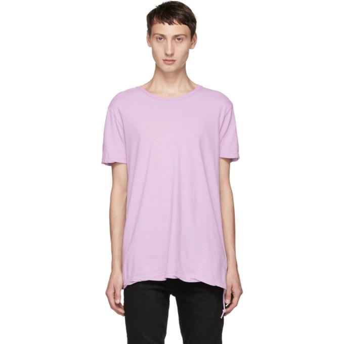 Ksubi Pink Seeing Lines T-Shirt