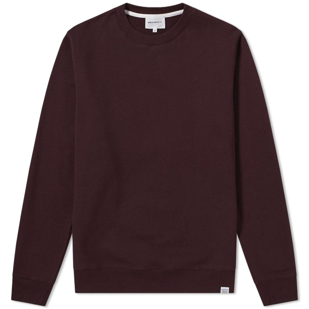 Photo: Norse Projects Vagn Classic Crew Sweat Brown
