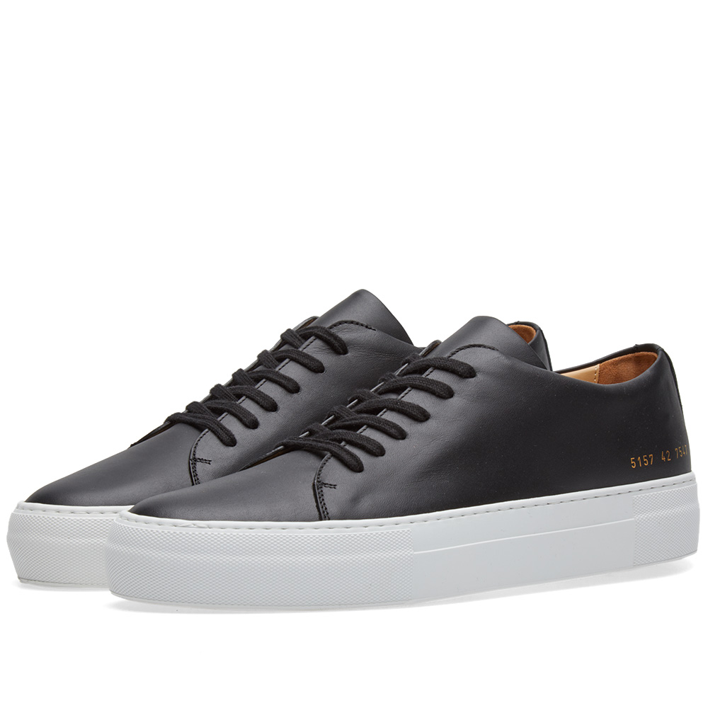 Photo: Common Projects Court Low Black