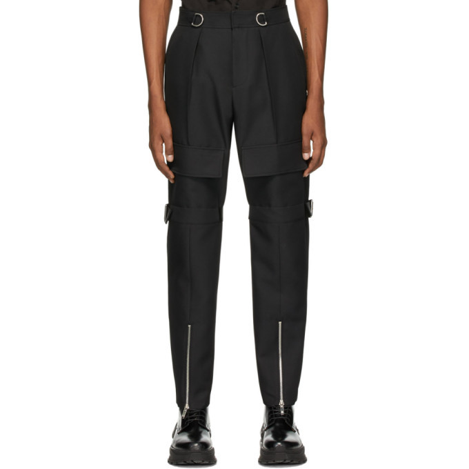 Photo: We11done Black Pocket Trousers