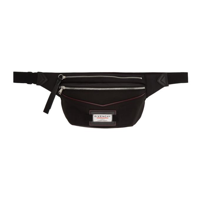 Photo: Givenchy Black Downtown Belt Bag