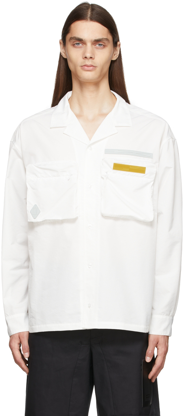 Photo: A-COLD-WALL* Long Sleeve Technical Vacation Shirt