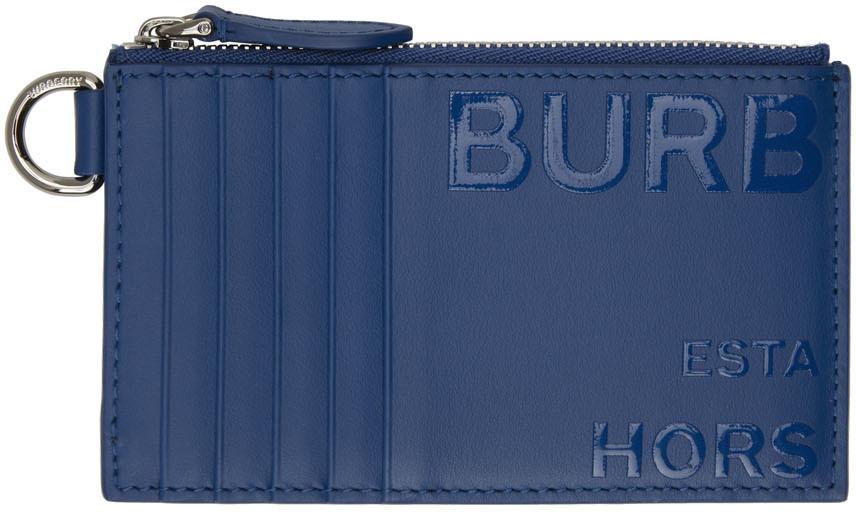 Photo: Burberry Blue Alwyn Card Holder
