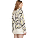 3.1 Phillip Lim Multicolor Wool Abstract Daisy Sweater