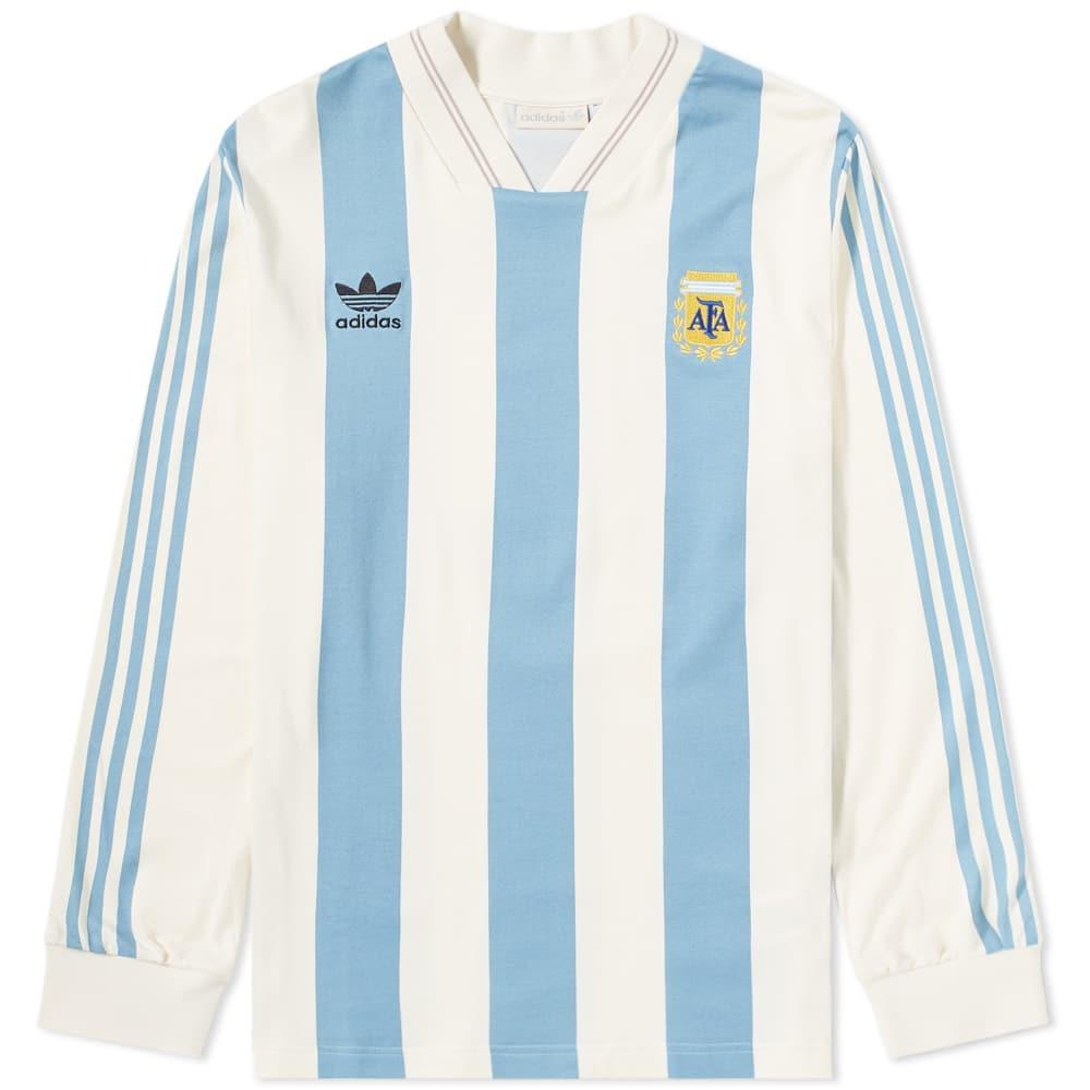 Photo: Adidas Argentina Jersey Tee White