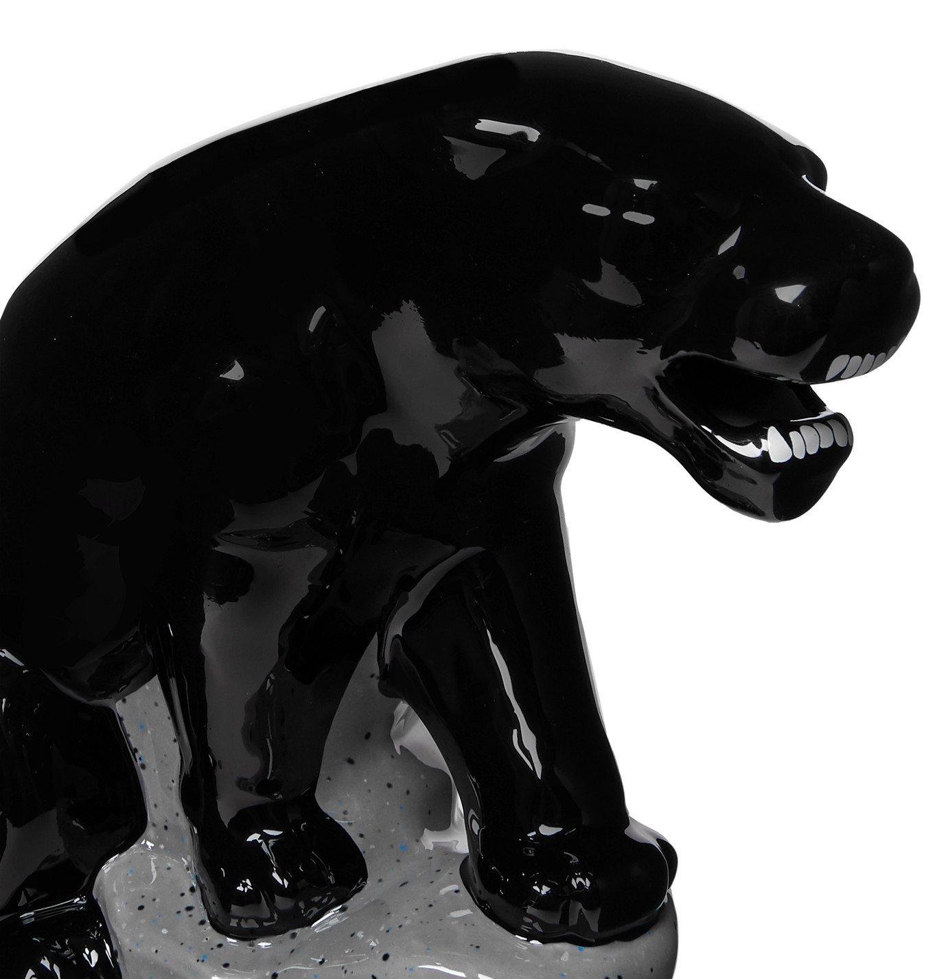 Wacko Maria - Panther Ceramic Incense Burner - Black