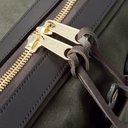 Filson - Original Leather-Trimmed Twill Briefcase - Green
