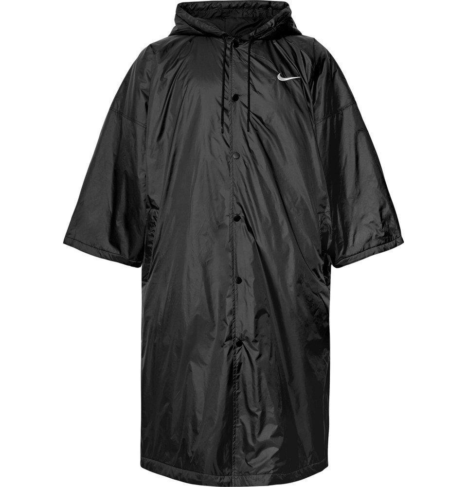 Photo: Nike - Fear of God Oversized Nylon Hooded Parka - Black