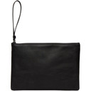 Common Projects Black Medium Flat Pouch