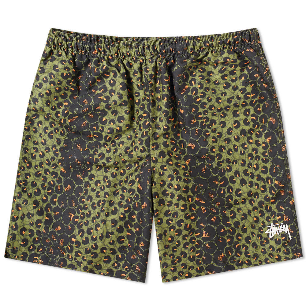 Photo: Stussy Leopard Water Short