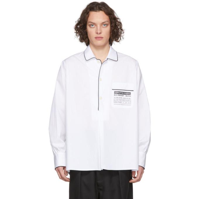 Photo: Random Identities White Computer Shirt