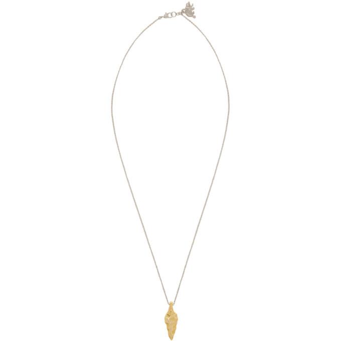 Photo: Sasquatchfabrix. Silver Arrowhead Necklace