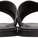 Giorgio Armani Black Logo Sandals